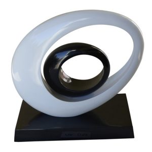 Elliptical Ovals Sculptural Piece