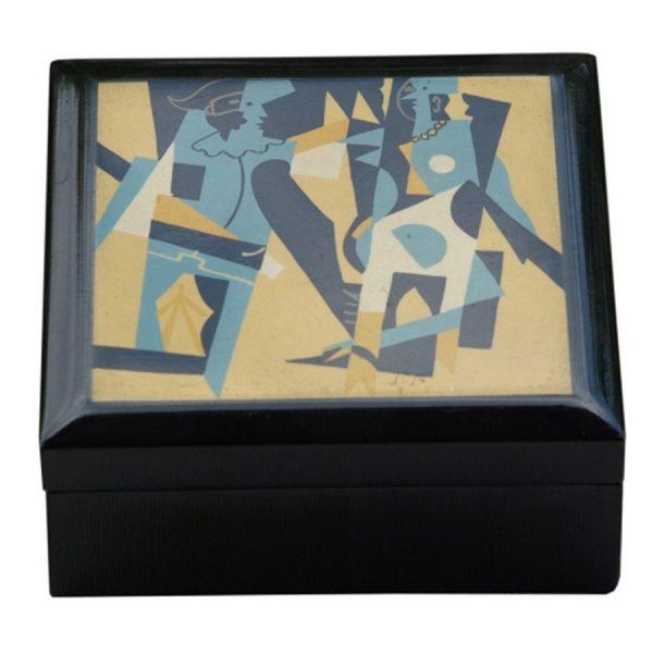 BO-024 Miro Design Lacquer Box - Design D. One of Many Beautiful Accessories from Adesso Wholesale.