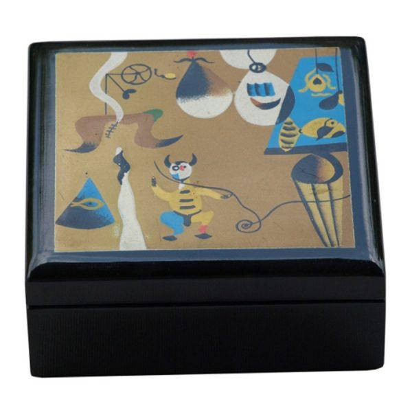 BO-025 Miro Design Lacquer Box - Design E. One of Many Beautiful Accessories from Adesso Wholesale.