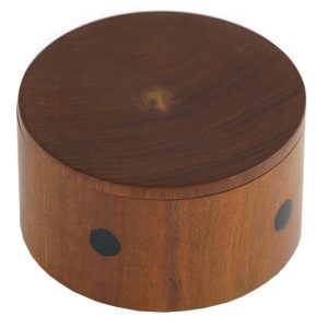 Small Round Wooden Container