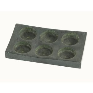 Soapstone 6 T-Lite Holder