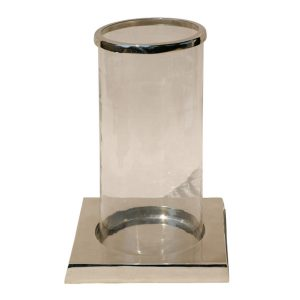 Cylindrical Glass Hurricane