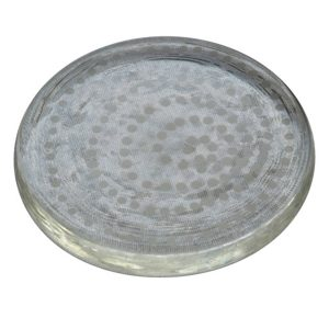 Clear Glass Coaster