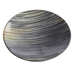 Medium Shallow Round Horn Dish