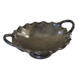 Art Nouveau Scalloped Edge Dish