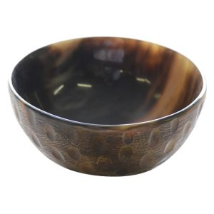 Small Deep Round Horn Dish