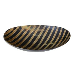 Large Oval Horn Dish
