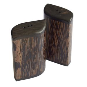 Coconut Wood Salt And Pepper Set