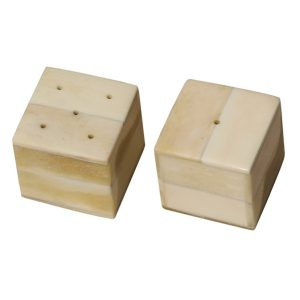 Cube Shape Salt And Pepper Set