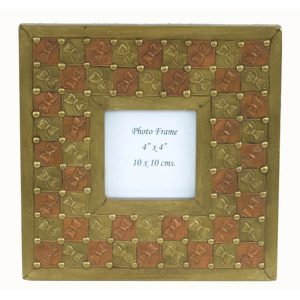 Photo Frame With Embossed Pattern