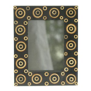 Photo Frame With Bamboo Circles