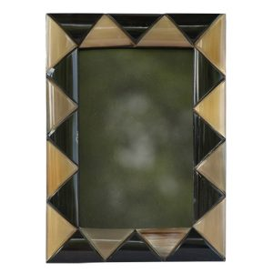 Triangular Segments Photo Frame