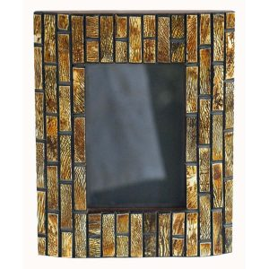 Burnished Horn Photo Frame