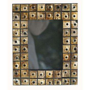 Horn Square Tiles Photo Frame