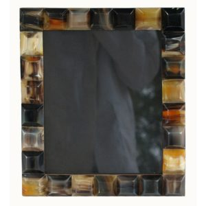 Raised Horn Segment Photo Frame