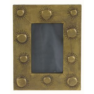 Random Sun Dots Photo Frame