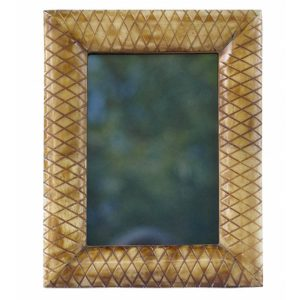 Criss Cross Grooves Photo Frame