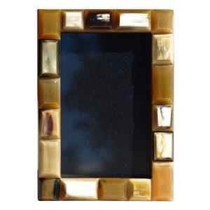 Large Horn Segment Photo Frame