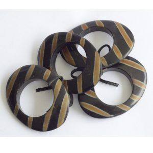 Set of Four Elliptical Napkin Rings