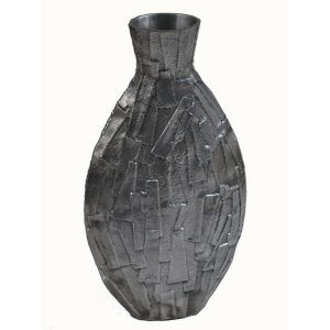 Art Deco Shard Finish Vase